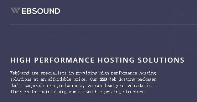 Websound:洛杉矶VPS,2TB流量,年付18美金